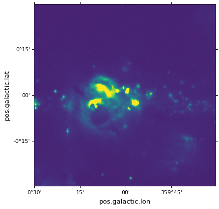 Plotting images and contours — Astropy v3 2 1